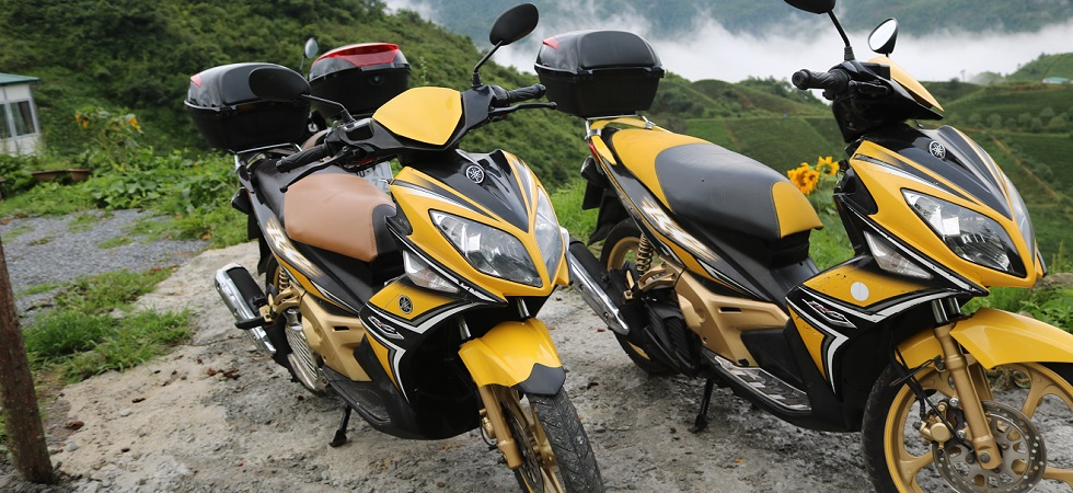 rent motobike in sapa